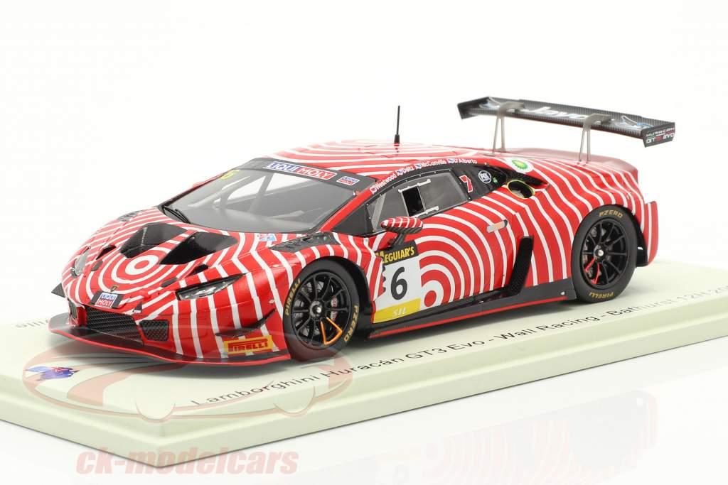 Lamborghini Huracan GT3 Evo #6 12h Bathurst 2020 Wall Racing 1:43 Spark