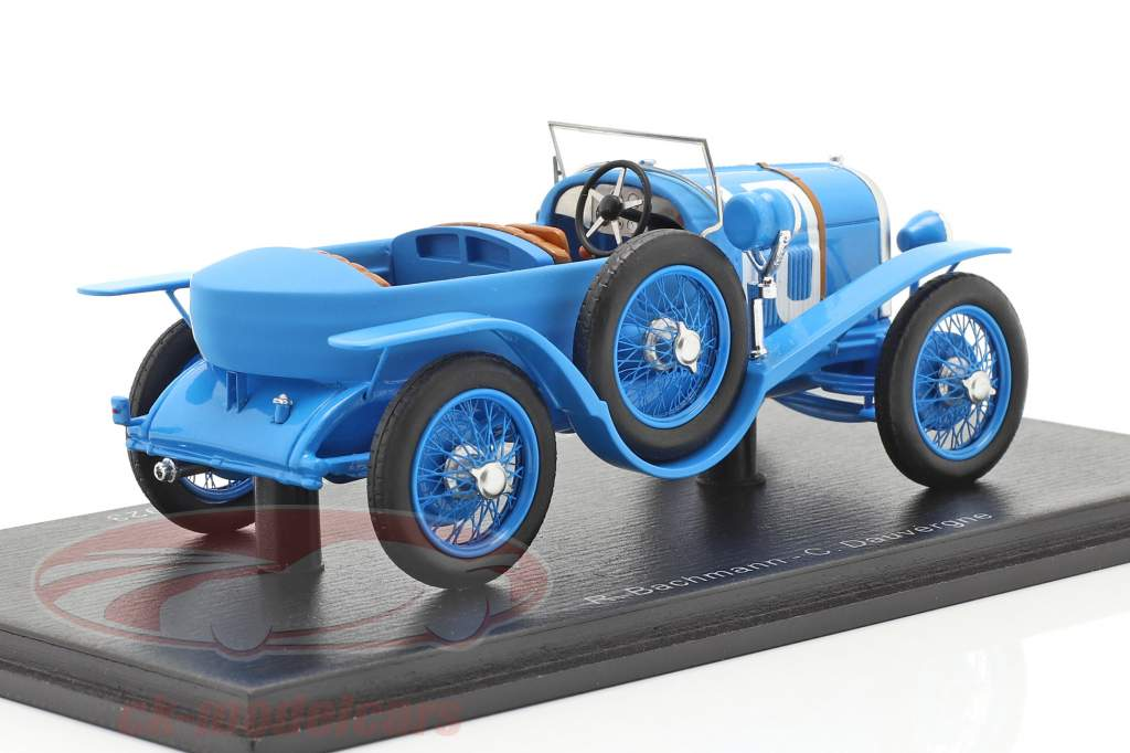 Chenard & Walcker Sport #10 2. plads 24h LeMans 1923 Bachmann, Dauvergne 1:43 Spark