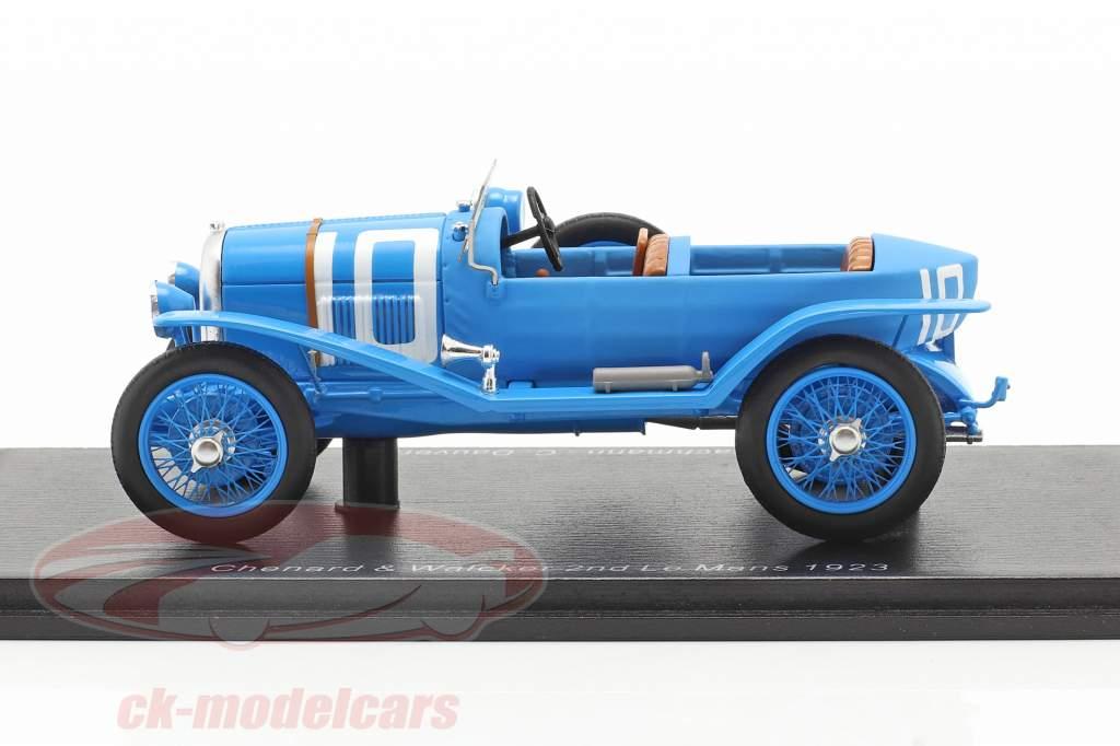 Chenard & Walcker Sport #10 2ª 24h LeMans 1923 Bachmann, Dauvergne 1:43 Spark