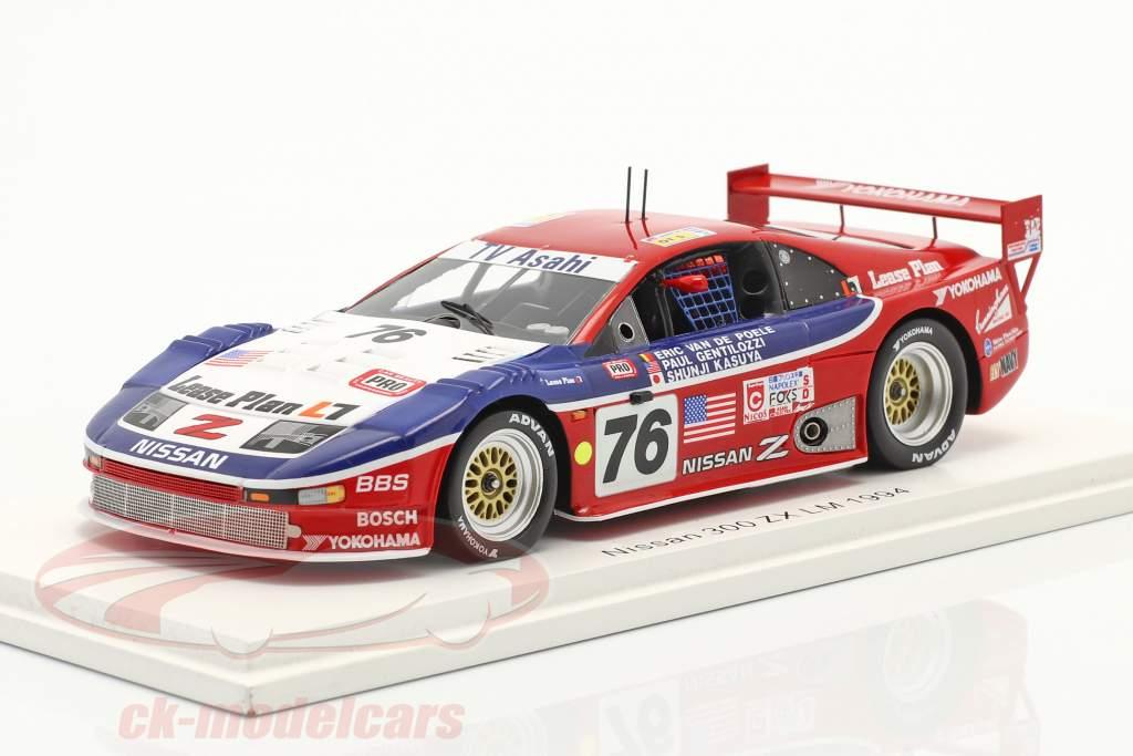 Nissan 300ZX Turbo #76 24h LeMans 1994 Clayton Cunningham Racing 1:43 Spark