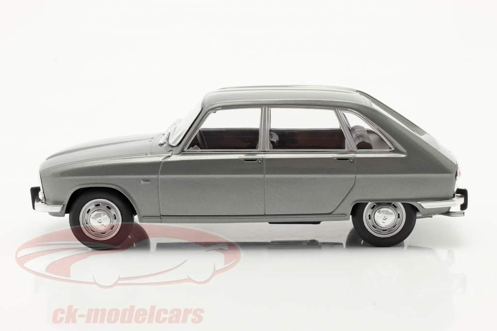 Renault 16 Byggeår 1965 sølvgrå metallisk 1:24 WhiteBox
