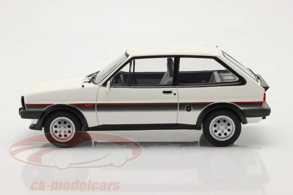 Ford Fiesta XR2 Bouwjaar 1981 Wit / zwart 1:18 Norev