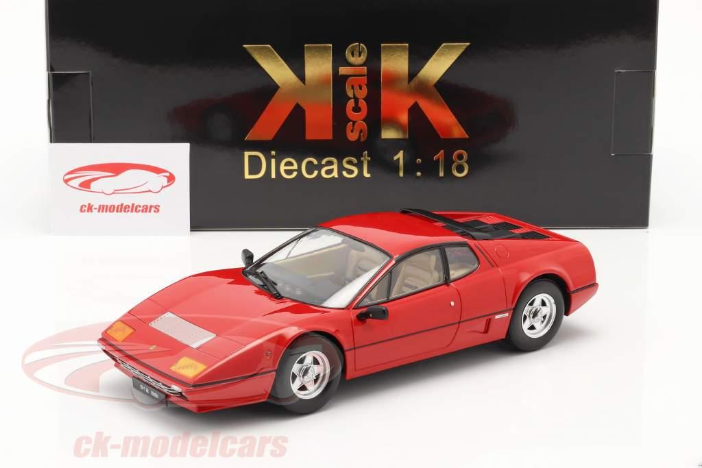 Ferrari 512 BBi Ano de construção 1981 vermelho 1:18 KK-Scale