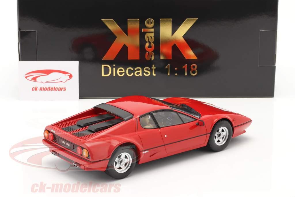 Ferrari 512 BBi Année de construction 1981 rouge 1:18 KK-Scale