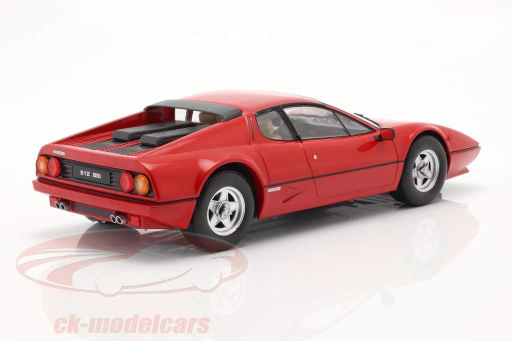 Ferrari 512 BBi Byggeår 1981 rød 1:18 KK-Scale