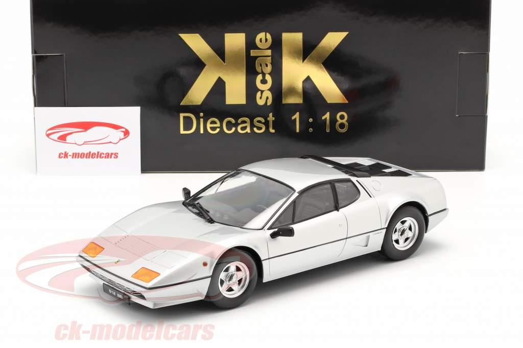 Ferrari 512 BBi Anno di costruzione 1981 argento 1:18 KK-Scale