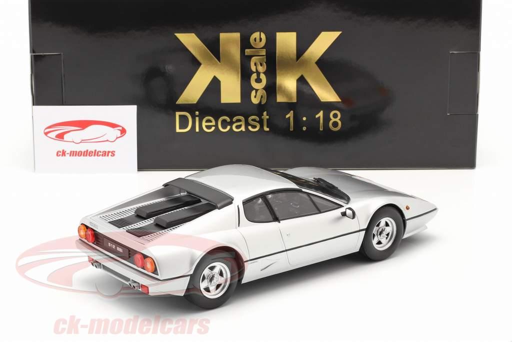 Ferrari 512 BBi Año de construcción 1981 plata 1:18 KK-Scale
