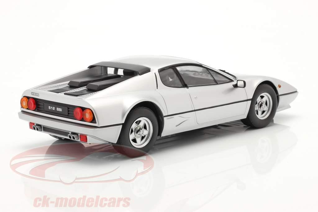 Ferrari 512 BBi Ano de construção 1981 prata 1:18 KK-Scale