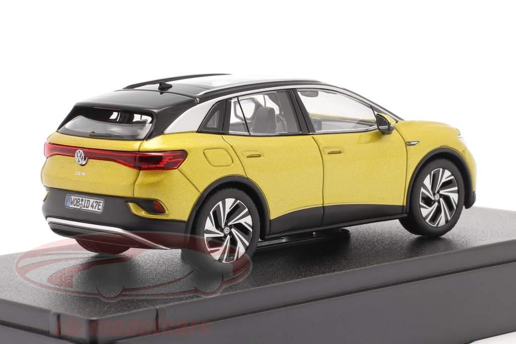 Volkswagen VW ID.4 Anno di costruzione 2021 miele giallo metallico 1:43 Norev