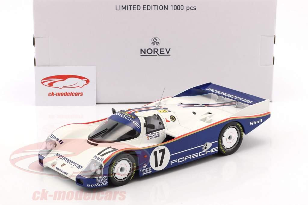 Porsche 962C #17 Sieger 24h LeMans 1987 Stuck, Bell, Holbert 1:18 Norev