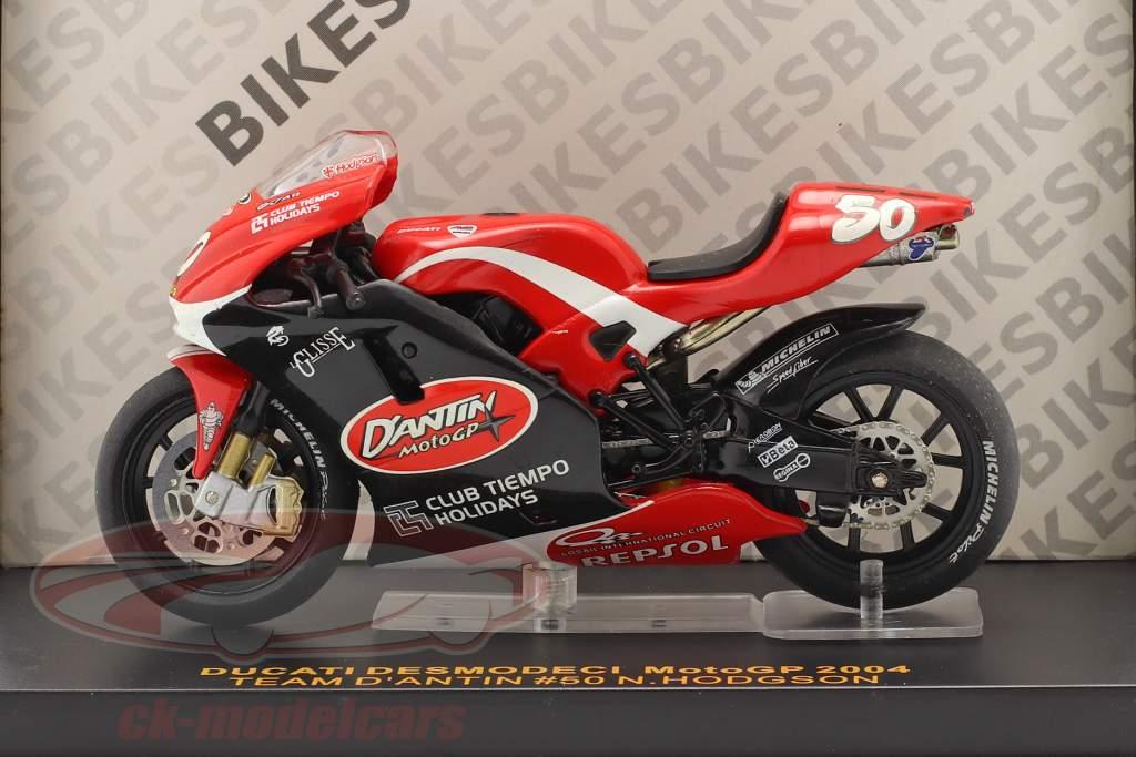 Neil Hodgson Ducati Desmosedici #50 MotoGP 2004 1:24 Ixo