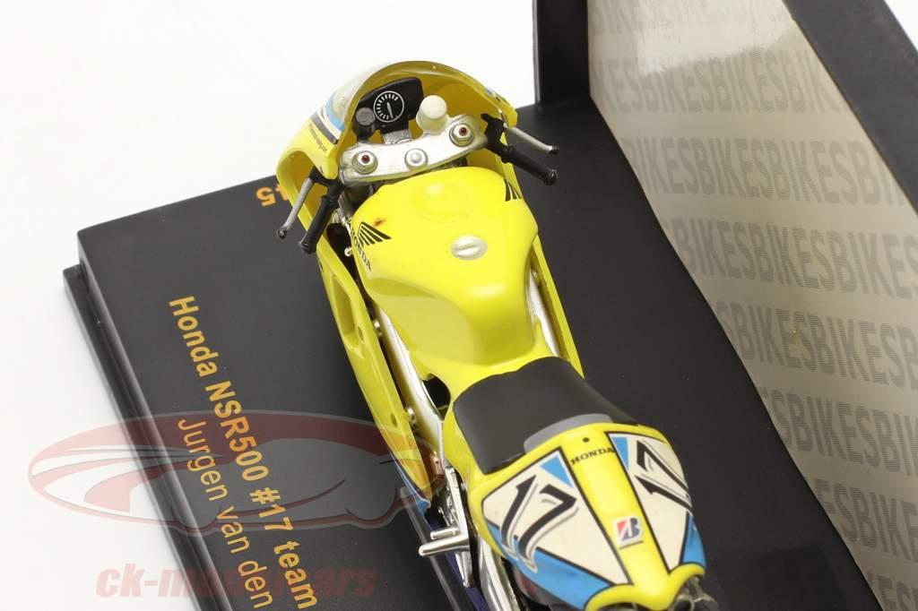J. V. D. Goorbergh Honda NRS500 #17 MotoGP 2002 1:24 Ixo