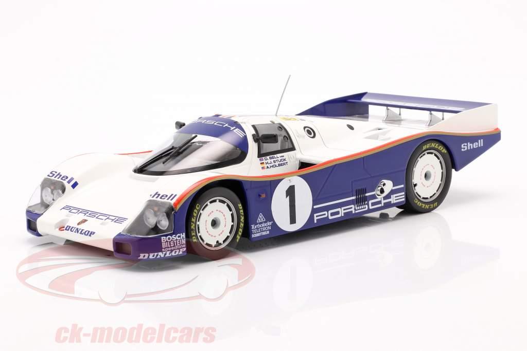 Porsche 962C #1 Winner 24h LeMans 1986 Stuck, Bell, Holbert 1:18 Norev