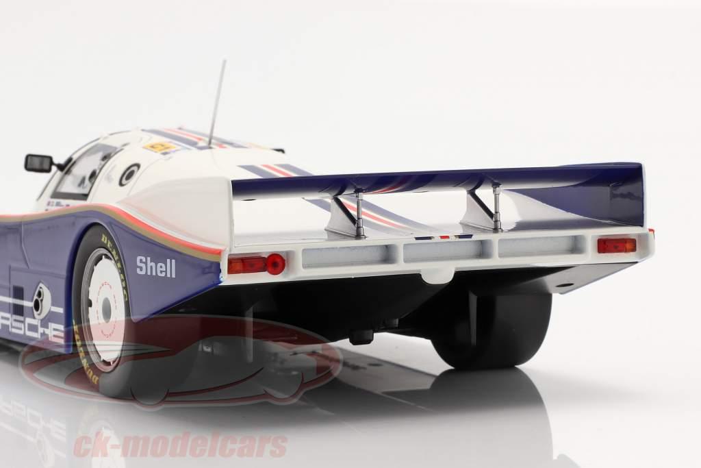 Porsche 962C #1 勝者 24h LeMans 1986 Stuck, Bell, Holbert 1:18 Norev