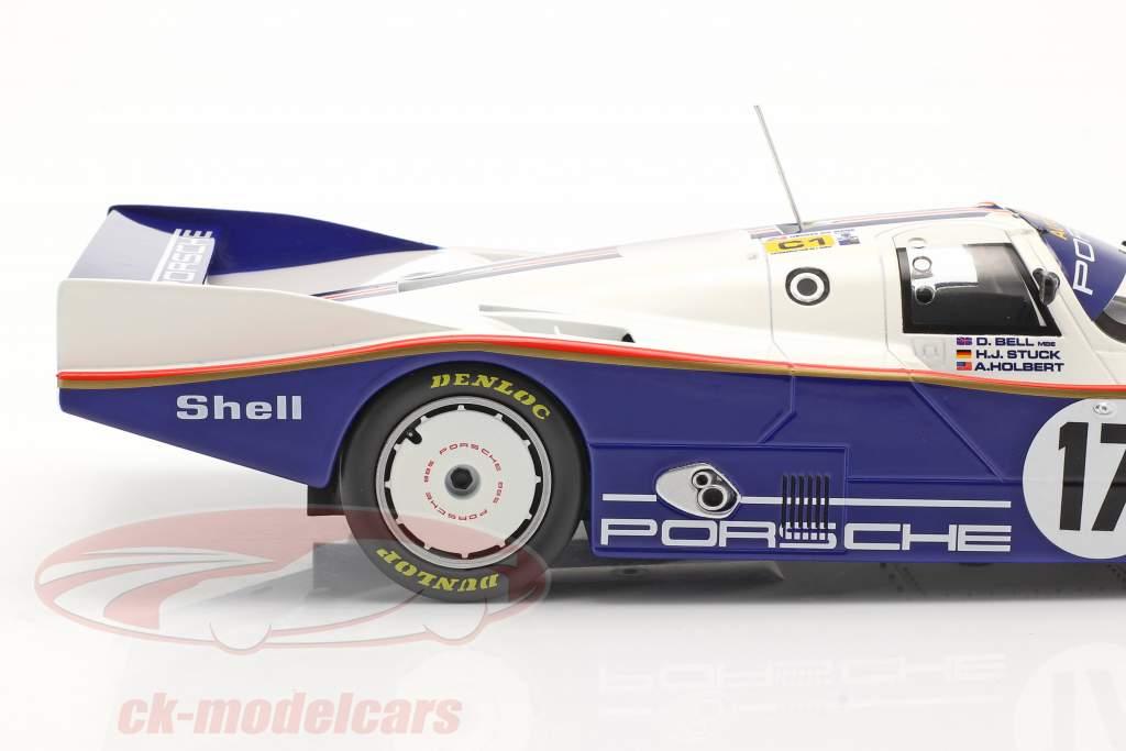 Porsche 962C #17 Vencedora 24h LeMans 1987 Stuck, Bell, Holbert 1:18 Norev