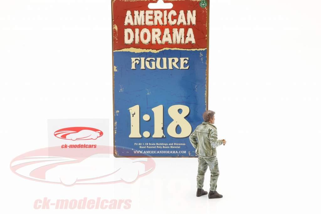 Mechaniker Tim Figur 1:18 American Diorama