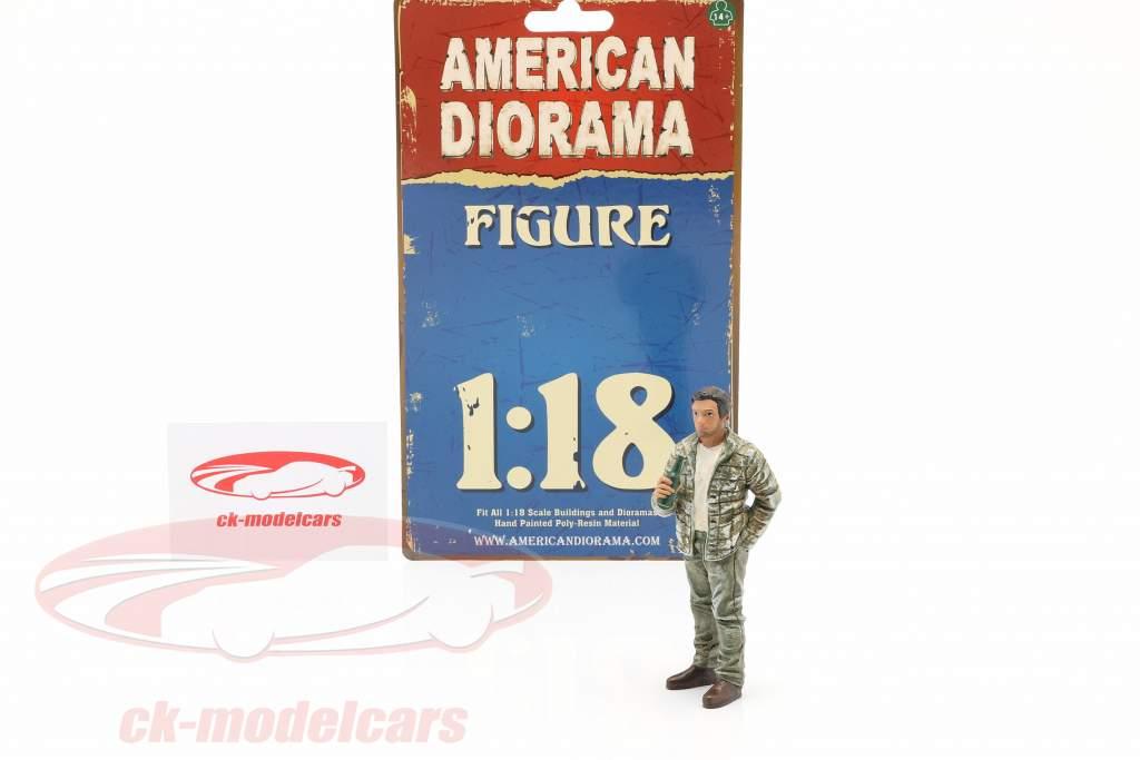 Hangover Tom figuur 1:18 American Diorama