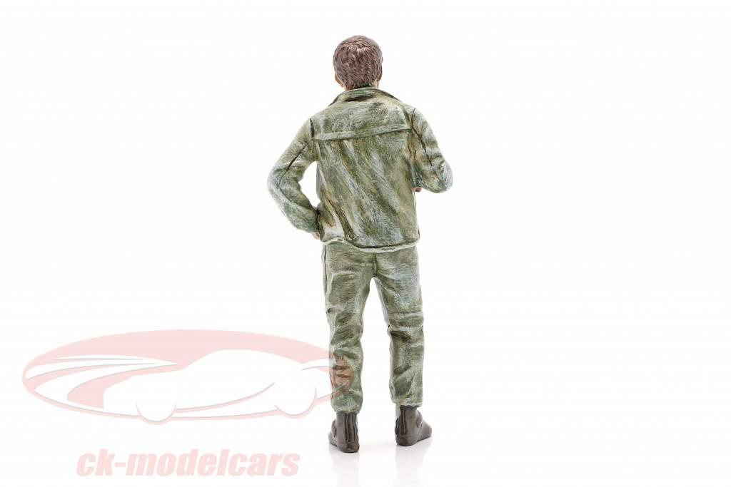 mechanic Tim figure 1:18 American Diorama