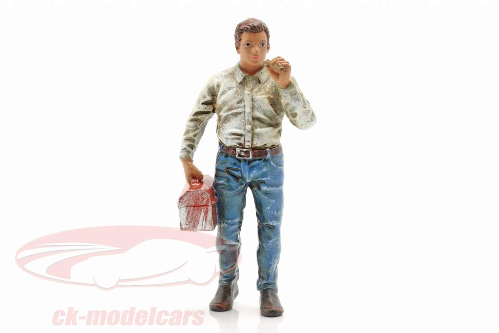 Fumador Larry figura 1:18 American Diorama