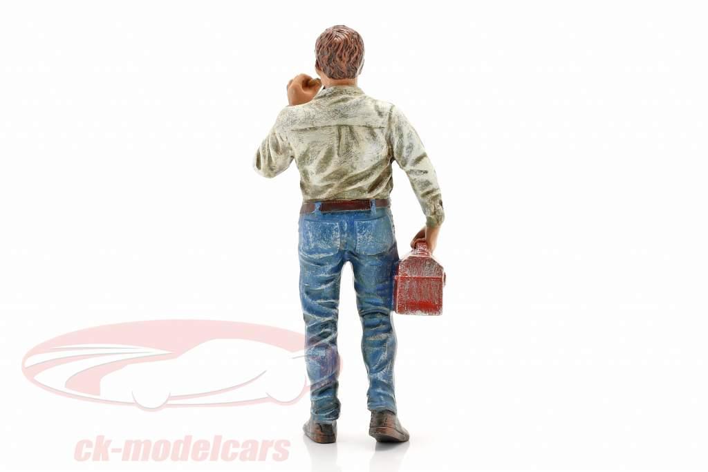 Kæderyger Larry figur 1:18 American Diorama