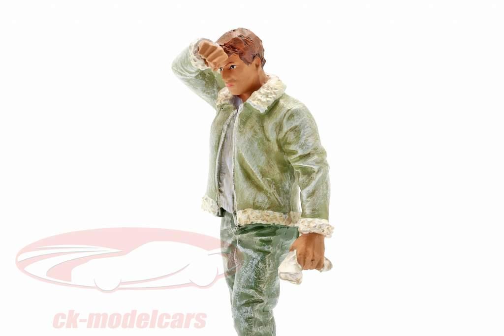 Transpiración Joe figura 1:18 American Diorama