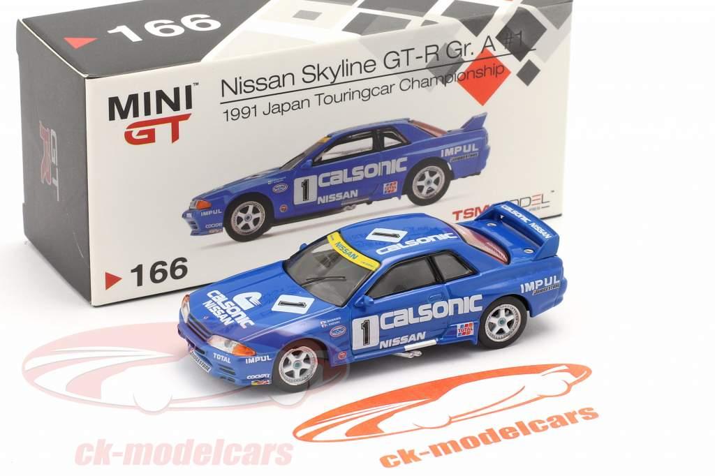 Nissan Skyline GT-R (R32) Gr.A RHD #1 2nd JTCC 1991 1:64 TrueScale