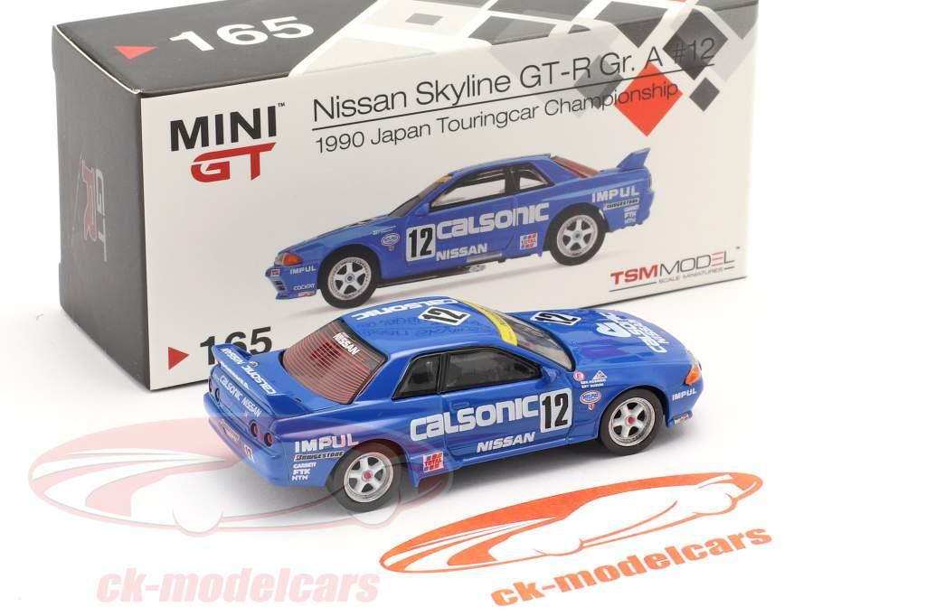 Nissan Skyline GT-R (R32) Gr.A RHD #12 Ganador JTCC 1990 1:64 TrueScale