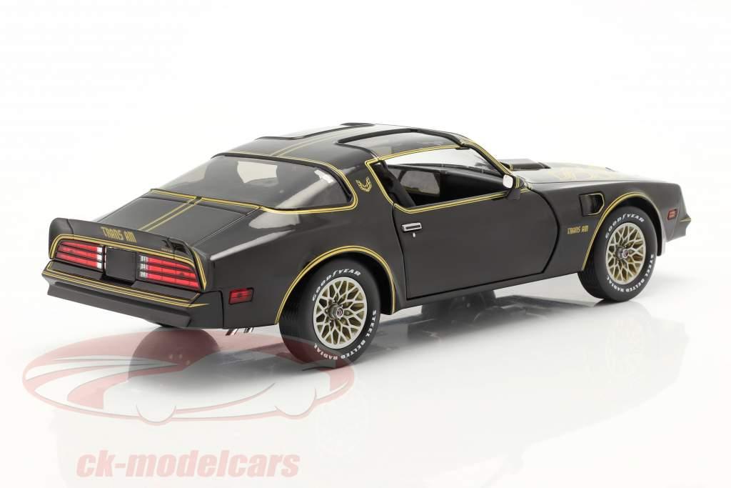 Pontiac Firebird Trans Am Année de construction 1977 noir / or 1:18 Greenlight