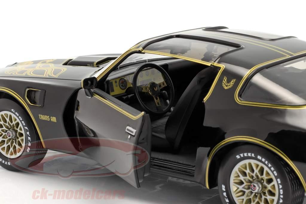 Pontiac Firebird Trans Am Anno di costruzione 1977 nero / oro 1:18 Greenlight