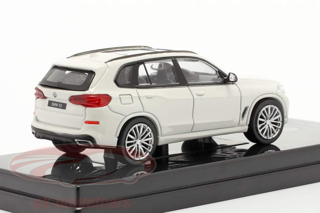 BMW X5 G05 Baujahr 2018 mineralweiß 1:64 Paragon Models