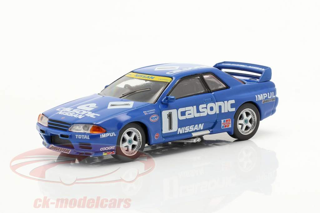 Nissan Skyline GT-R (R32) Gr.A RHD #1 2 ° JTCC 1991 1:64 TrueScale