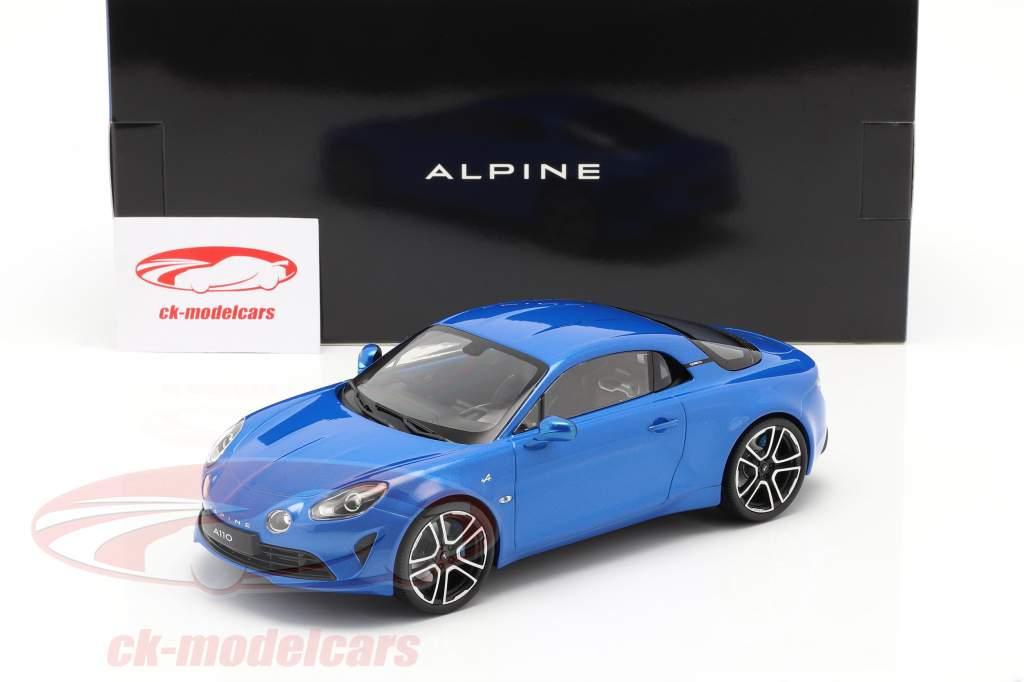 Alpine A110 Estreno Edición 2017 azul metálico 1:18 Norev
