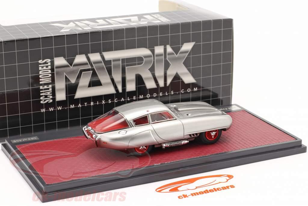 Pegaso Z-102 Cupula Coupe Ano de construção 1953 prata 1:43 Matrix