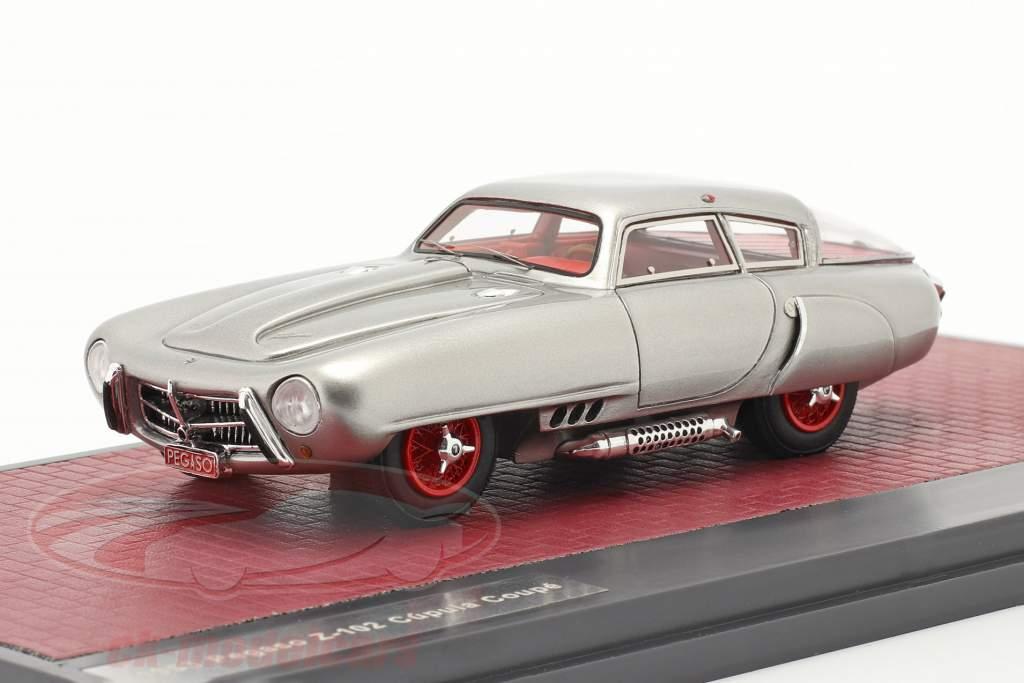 Pegaso Z-102 Cupula Coupe Année de construction 1953 argent 1:43 Matrix
