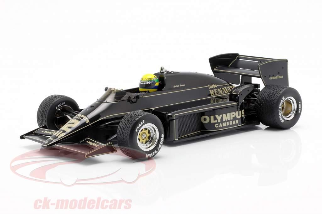Ayrton Senna Lotus 97T #12 vinder Portugisisk GP formel 1 1985 1:18 Premium X