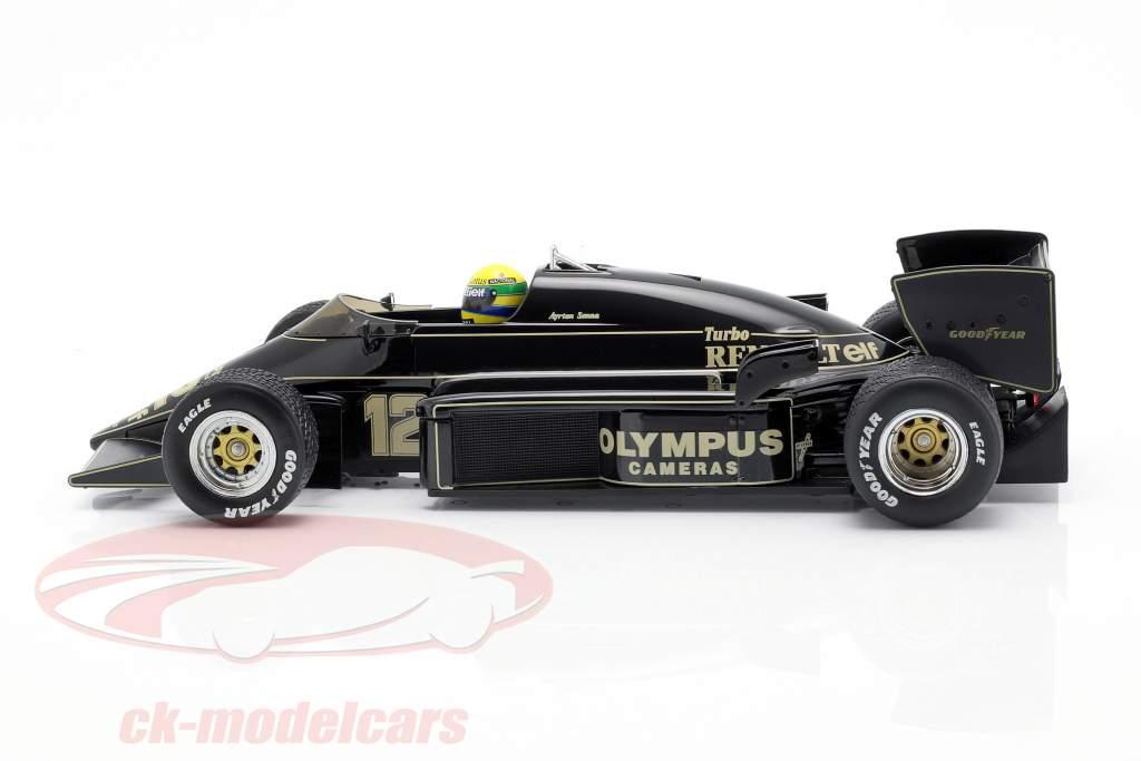 Ayrton Senna Lotus 97T #12 vencedora Português GP Fórmula 1 1985 1:18 Premium X