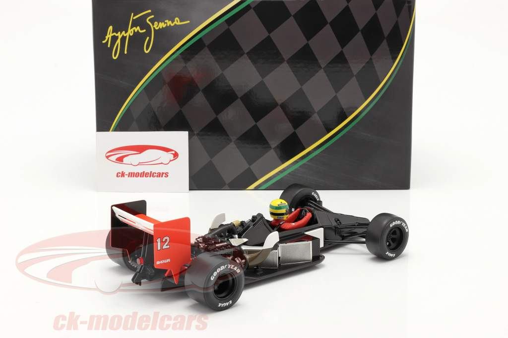 Ayrton Senna McLaren MP4/4 #12 Japan GP formula 1 World Champion 1988 1:18 Premium X