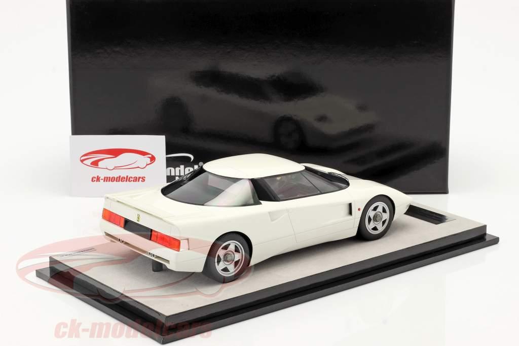 Ferrari 408 4RM Anno di costruzione 1987 avus bianca 1:18 Tecnomodel