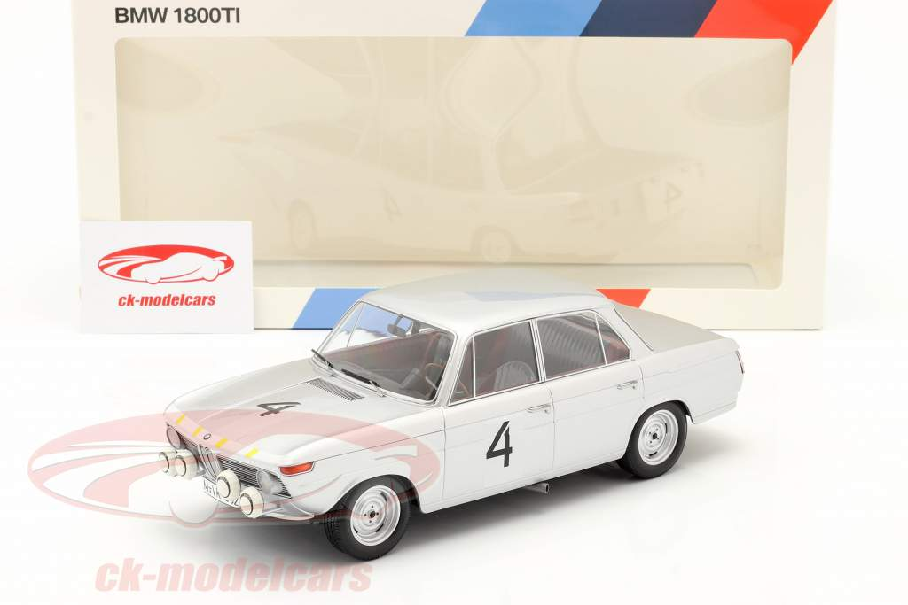 BMW 1800 TI #4 Winner 24h Spa 1965 Ickx, van Ophem 1:18 Minichamps