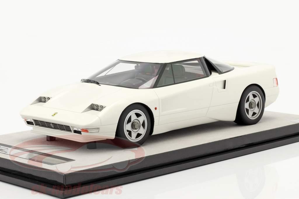 Ferrari 408 4RM Año de construcción 1987 avus Blanco 1:18 Tecnomodel