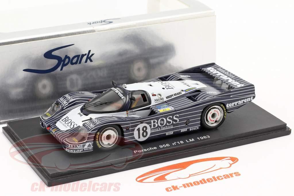 Porsche 956L 24h LeMans 1983 Hugo Boss 1:43 Spark / 2. choix