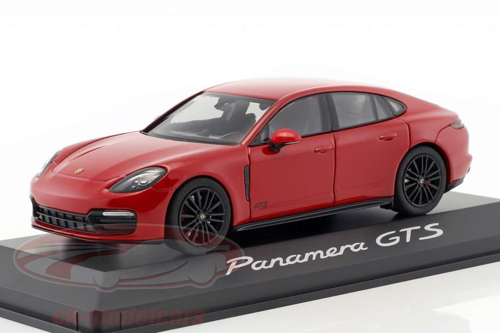Porsche Panamera GTS ano de construção 2016 carmim vermelho 1:43 Herpa