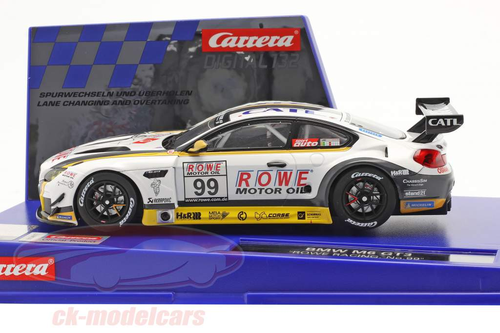 Digital 132 SlotCar BMW M6 GT3 #99 ROWE RACING 1:32 Carrera