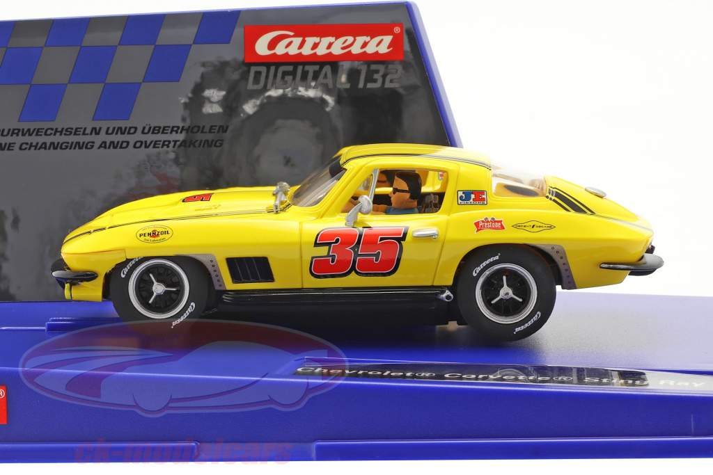Digital 132 SlotCar Chevrolet Corvette Sting Ray #35 1:32 Carrera