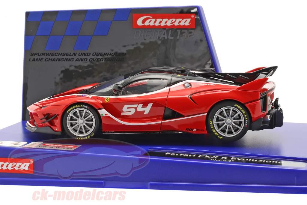 Digital 132 SlotCar Ferrari FXX K Evoluzione #54 1:32 Carrera