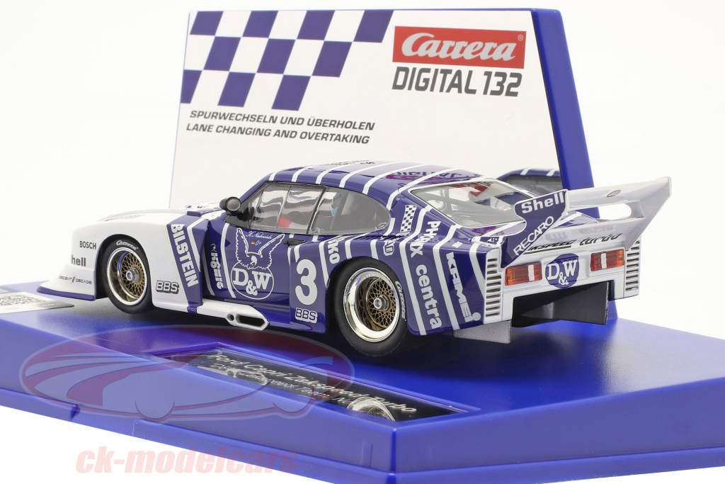 Digital 132 SlotCar Ford Capri Zakspeed Turbo #3 D&W-Zakspeed Team 1:32 Carrera