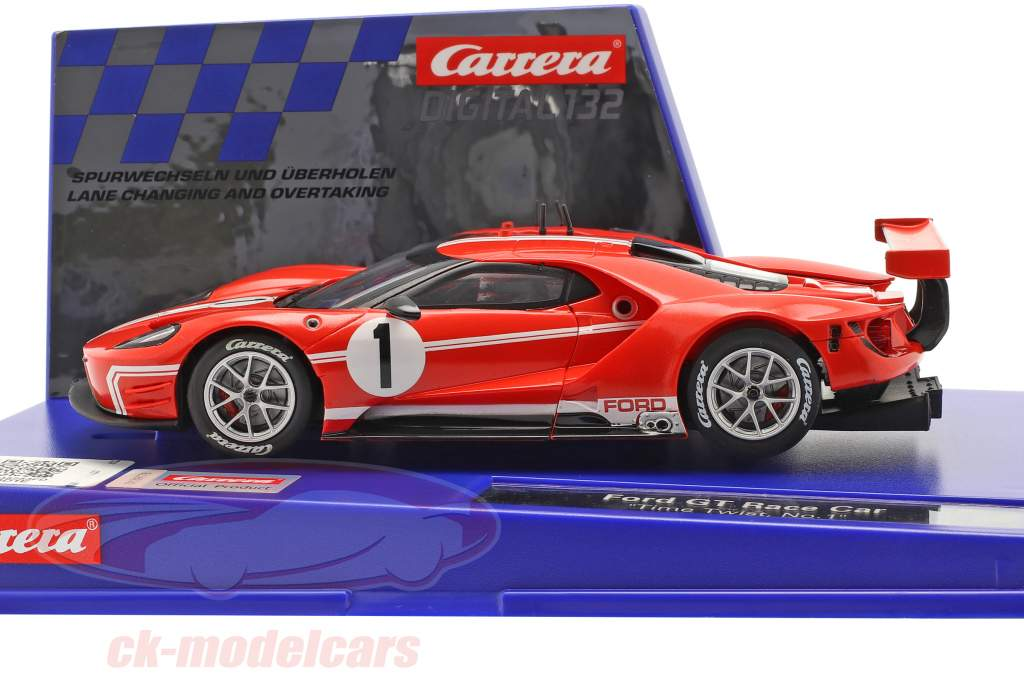 Digital 132 SlotCar Ford GT Race Car Time Twist #1 1:32 Carrera