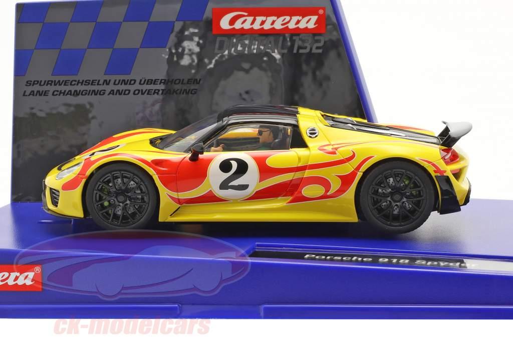 Digital 132 SlotCar Porsche 918 Spyder #2 1:32 Carrera