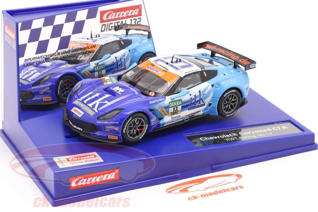 Digital 132 SlotCar Chevrolet Corvette C7.R #13 RWT-Racing 1:32 Carrera