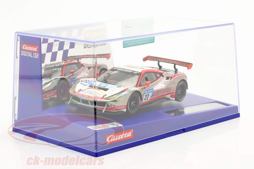 Digital 132 SlotCar Ferrari 488 GT3 #22 WTM Racing 1:32 Carrera